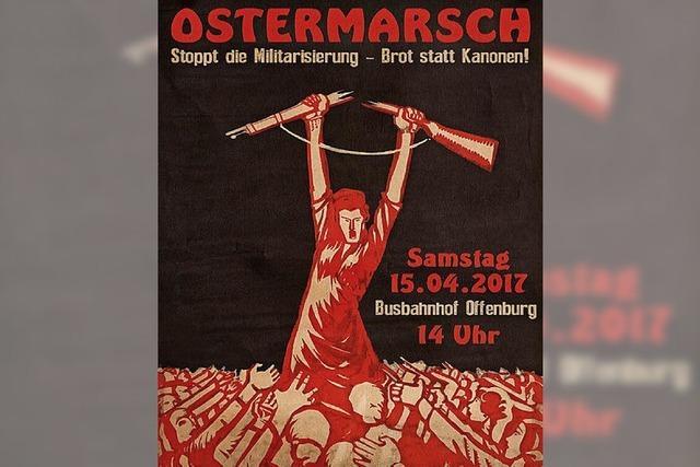 Ostermarsch am Samstag