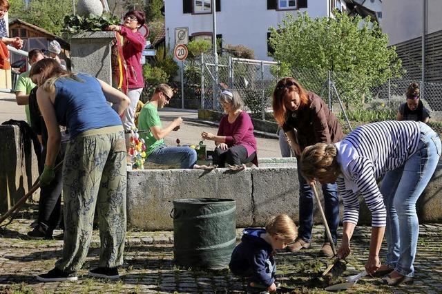 Lörrach: Tumringer wollen Wasser für ihren Brunnen