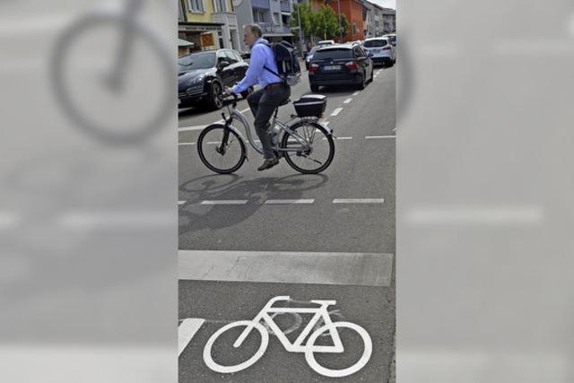 Radfahrer brauchen Schutz
