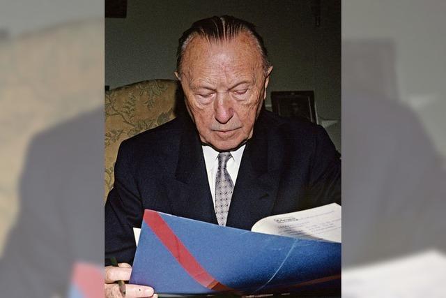 Eine neue Biographie über den ersten Bundeskanzler