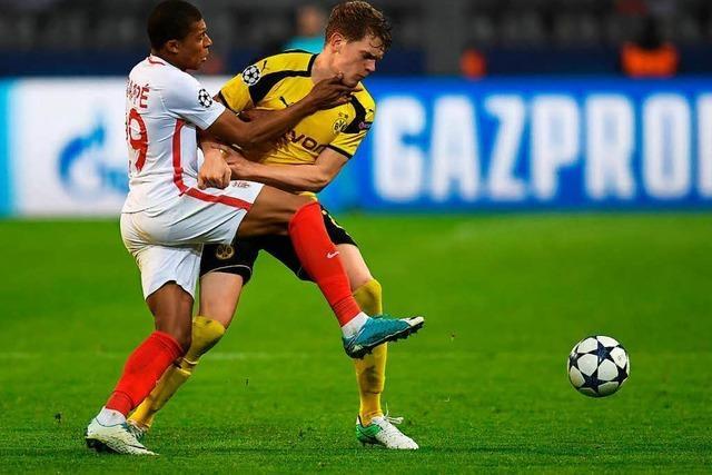 2:3 gegen Monaco: Dortmund droht Aus im Viertelfinale