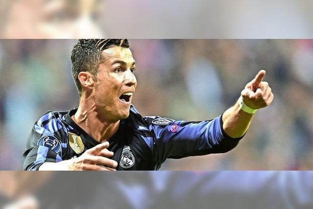 Cristiano Ronaldo trifft den FC Bayern ins Herz