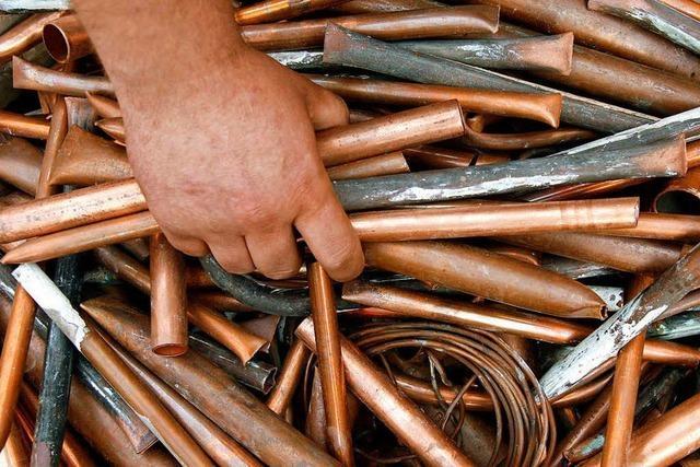 Wenn es dem Kupferpreis gut geht, freut sich die Wirtschaft