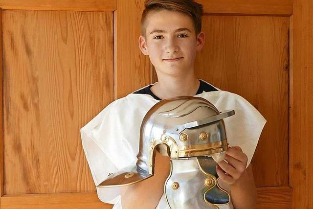 Geschichts-Fan: 14-Jähriger lebt für die alten Römer