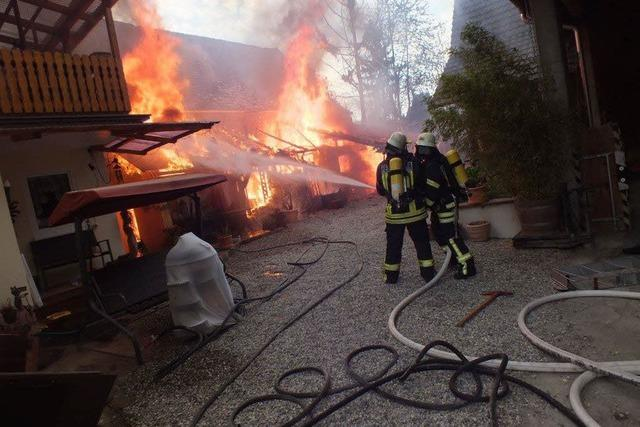 Brandstiftung in Kappel: Verdacht gegen zwei Jugendliche erhärtet sich
