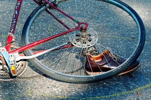 Mehr als die Hälfte der Radunfälle in Lörrach wird von Radlern verursacht