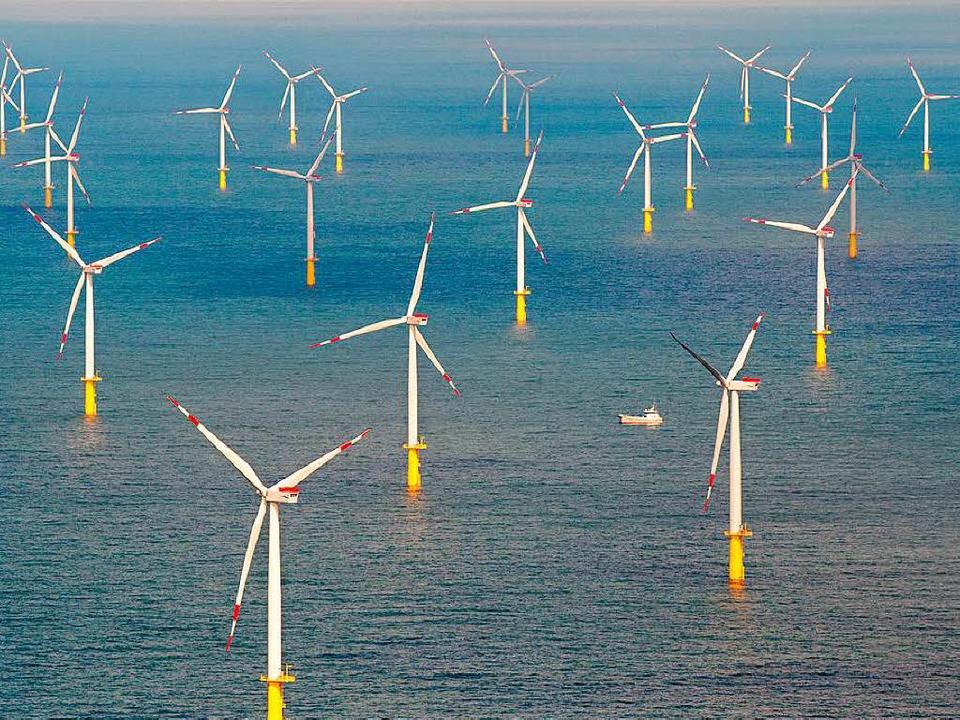 Nach Ansicht der EnBW braucht Offshore-Windstrom keine Förderung mehr.  | Foto: DPA