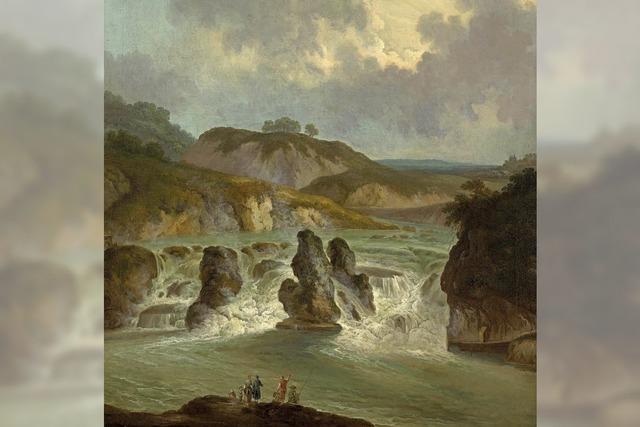 Der Rheinfall in der Bildenden Kunst – Darstellungen zwischen 1750 und 1850 in Bonndorf