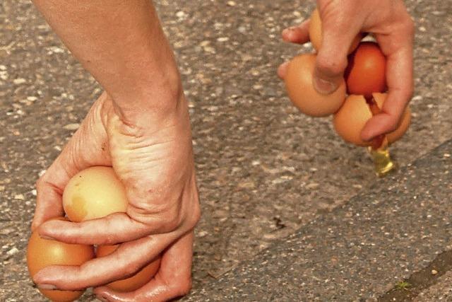Eierlauf in Karsau