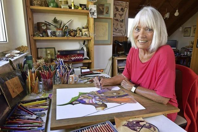 Sigrid Gregor hat mehr als 60 Kinderbücher illustriert