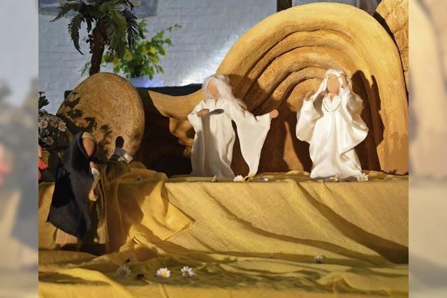 Szenen aus dem Leben Jesu in Miniatur