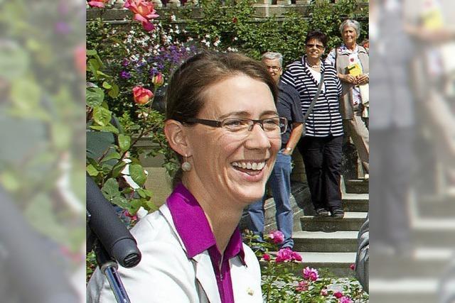 Die Mainau-Gräfin ist jetzt Vizepräsidentin