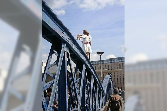 Luftige Hochzeit