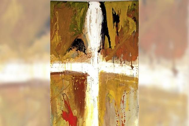 Das Kreuz ist untrennbar mit dem Osterfest verbunden