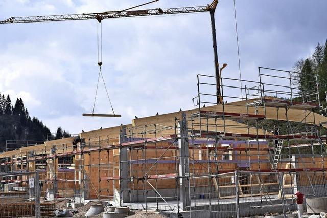 Ein Dach für den neuen Werkhof