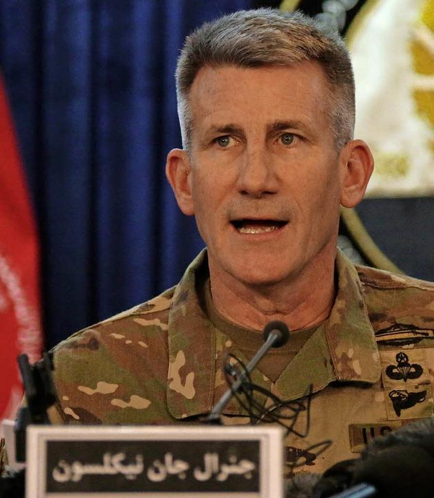 General John Nicholson     Foto: AFP