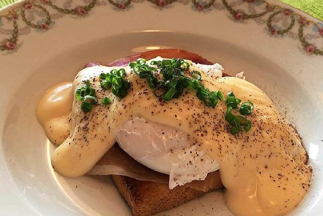 Eggs Benedict sind ein morgendlicher Sattmacher