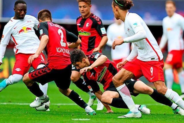 SC Freiburg verliert in Leipzig deutlich mit 0:4