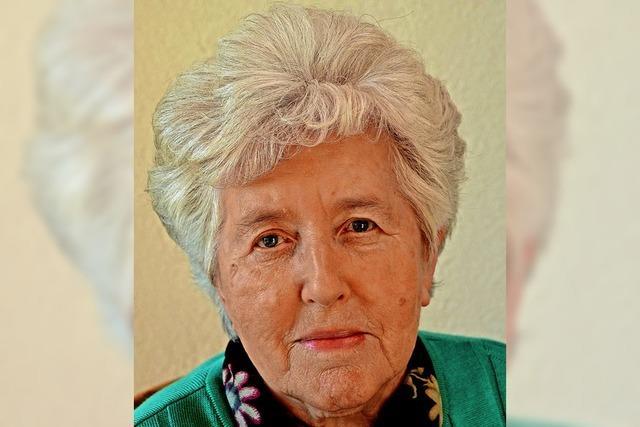 Margaretha Beck wird 80 Jahre alt