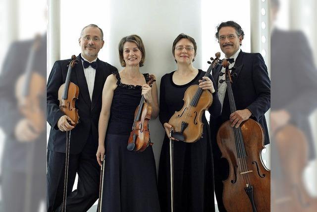 Carmina Quartett Zürich gastiert in der Dorfkirche Riehen/Schweiz