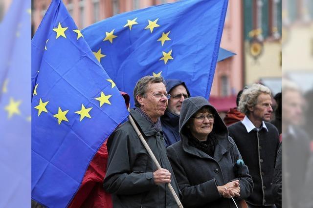 Zeichen setzen vor den Wahlen in Frankreich