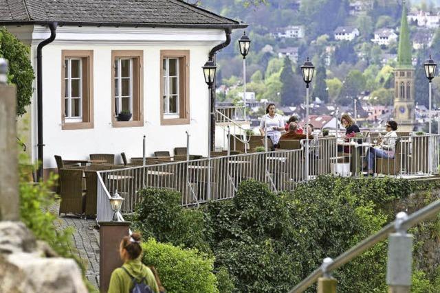 Der Schlossberg hat eine wechselvolle Geschichte, aber gab es auch einen Wasserfall?