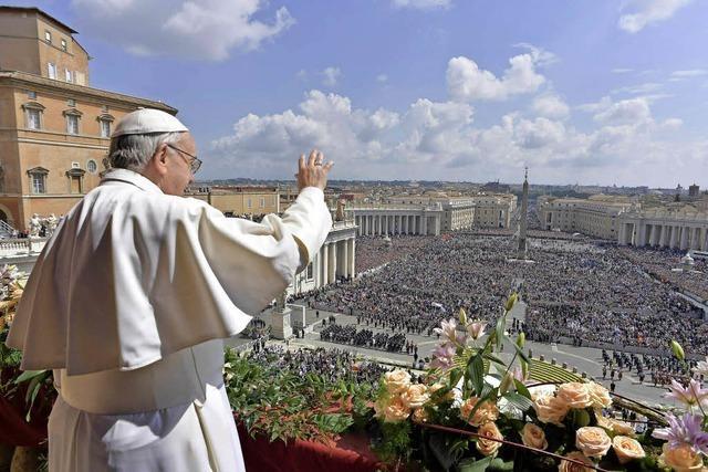 Papstsegen für die Welt