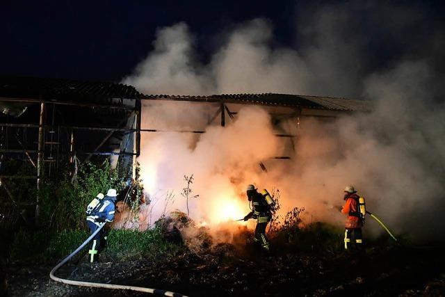 Wieder brennt Scheune in Kappel-Grafenhausen ab