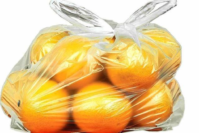 Plastiktüte soll im Handel zum Auslaufmodell werden