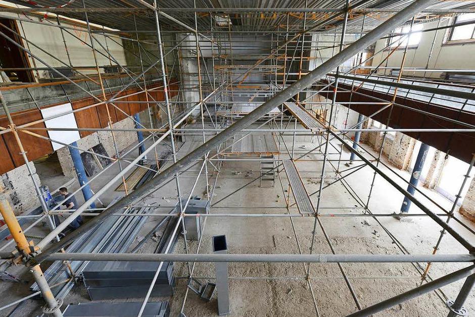 Der Paulussaal wird komplett erneuert. (Foto: Ingo Schneider)