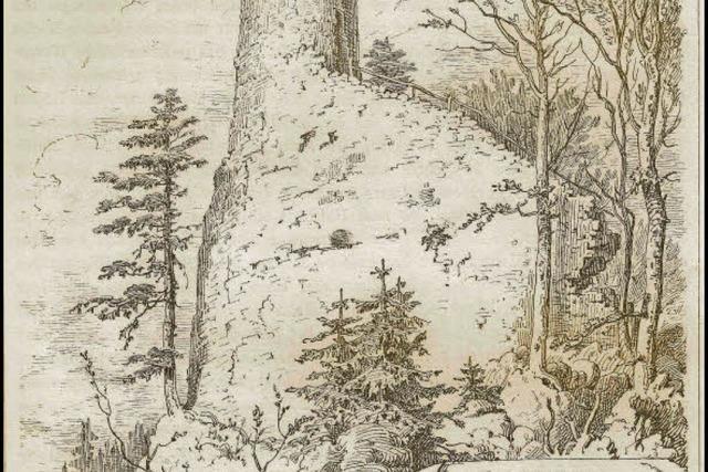 Basler Ritter lebten auf Burg Bärenfels