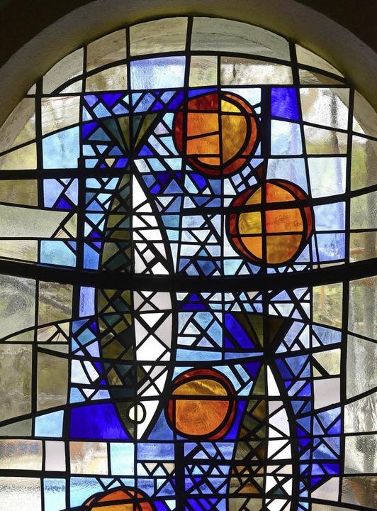 Die Kirchenfenster sind frisch geputzt.  | Foto: Ingo Schneider