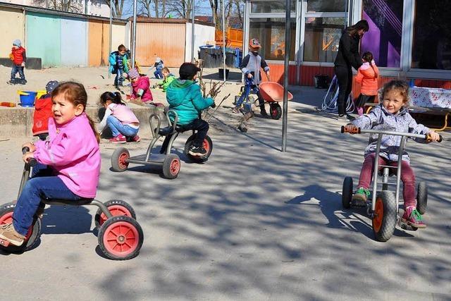 Integration im Kindergarten: Wo Flüchtlingskinder spielen lernen