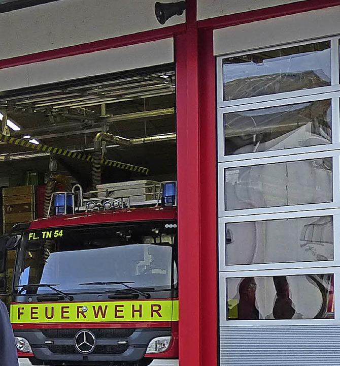 Maßnahmen Feuerwehr Teningen  | Foto: Aribert Rüssel