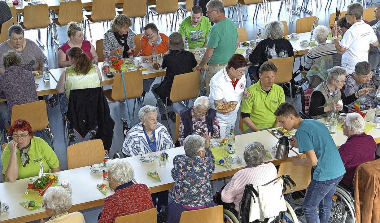 Eine positive Resonanz gab es auf dem ... veranstalteten Behindertennachmittag.    Foto: Jürgen Schweizer
