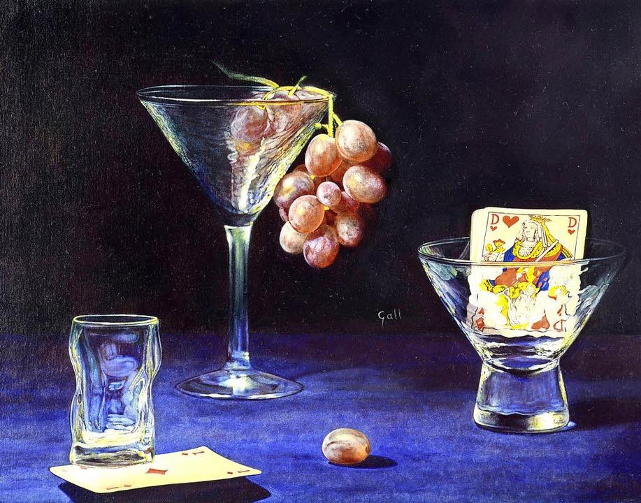 Stillleben von   Patrick Gall war eine...stelluungen in der Löffinger Galerie.   | Foto: Privat
