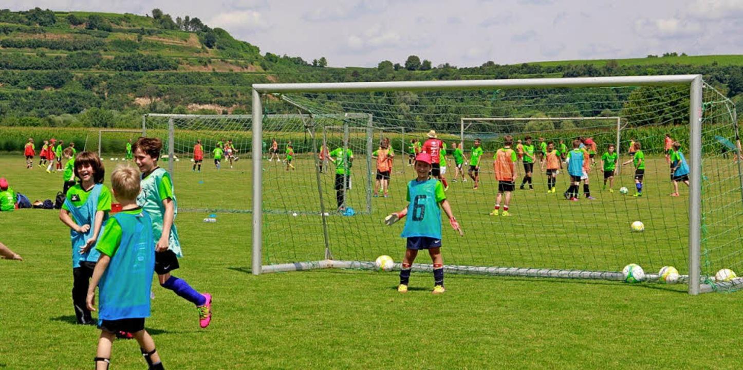 Der Spaß soll beim Ferienfußballcamp des VfR Hausen im Vordergrund stehen.   | Foto: VfR Hausen