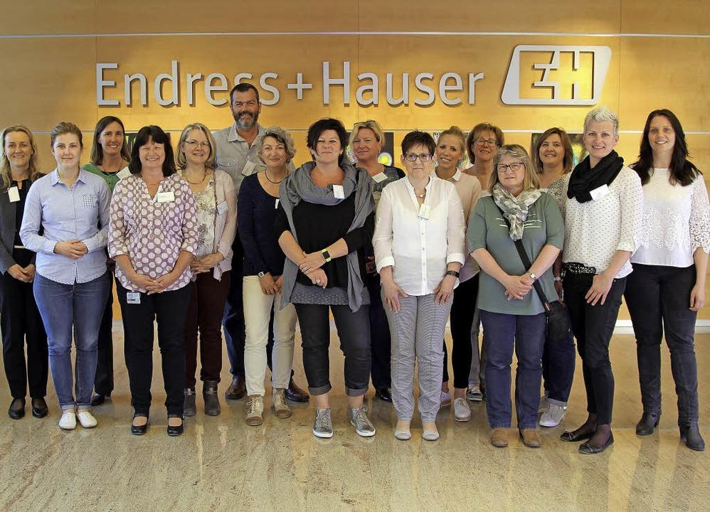 Die Pflegelotsen des Wiesental-Bündnis... und Schulungsleiterin Petra Pachner.   | Foto: ZVG