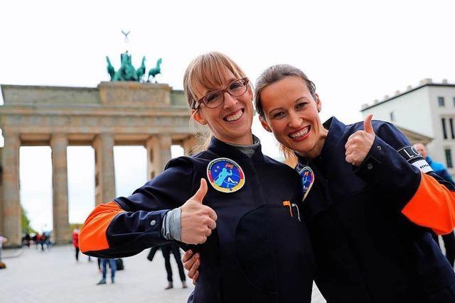 Wer wird die erste deutsche Frau im All?