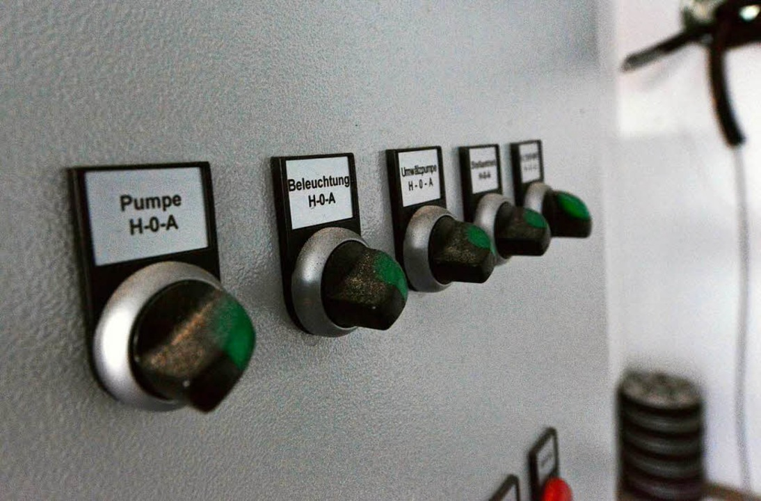 Über diese Schaltanlage unter Tage<ppp></ppp>  | Foto: Michael Bamberger