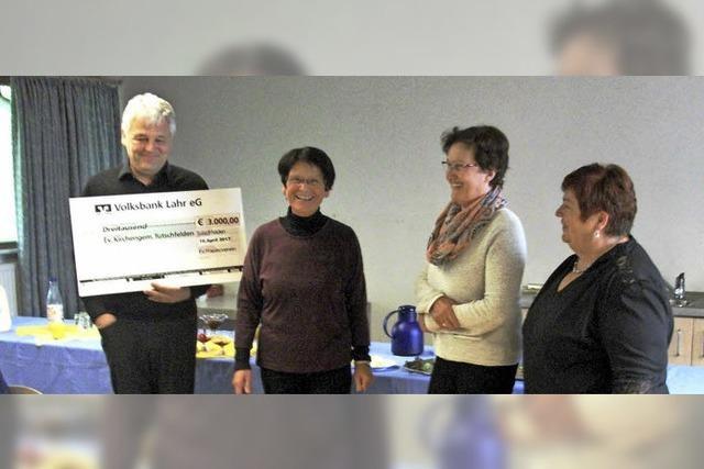 Frauenverein unterstützt Renovierung