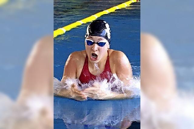 Schwimmerin Carolin Thoma
