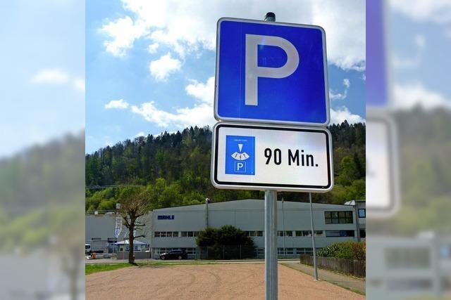 Parkplatz gesucht und gefunden