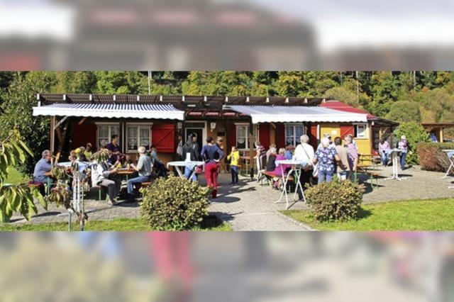 Gärtner-Vereinsheim soll farblich aufblühen