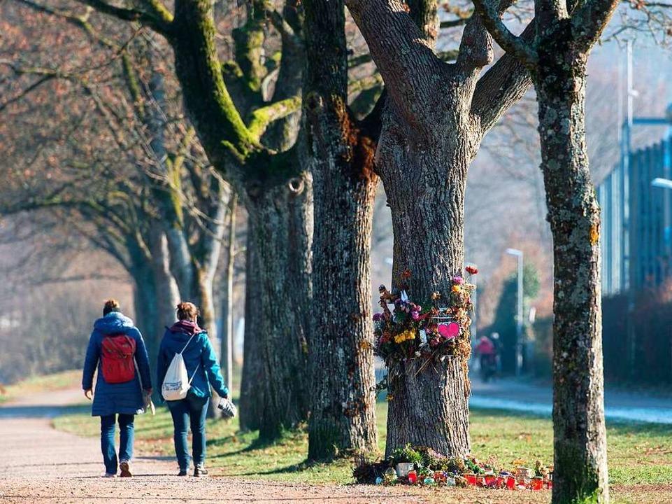 Der Tatort an der Dreisam, einige Wochen nach der Tat.    Foto: dpa