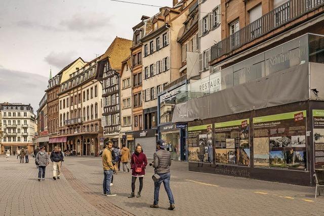 Straßburg ist eine dynamische Einkaufsstadt