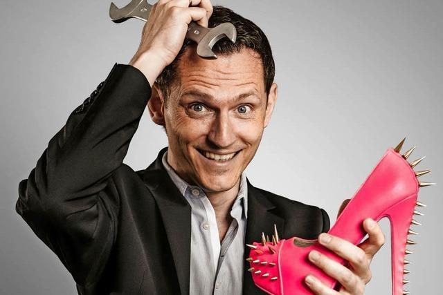 Kabarettist Konstantin Schmidt in der Reihe Kulturo Rümmingen mit