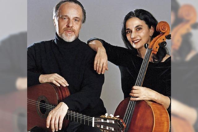 Duo Burstein & Legnani im Blauen Haus in Breisach