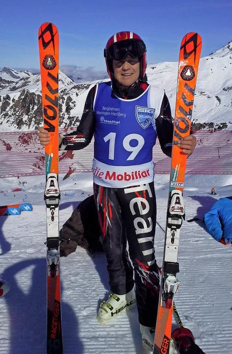Glücklich über seine Silbermedaille: Josef Gutmann  | Foto: privat