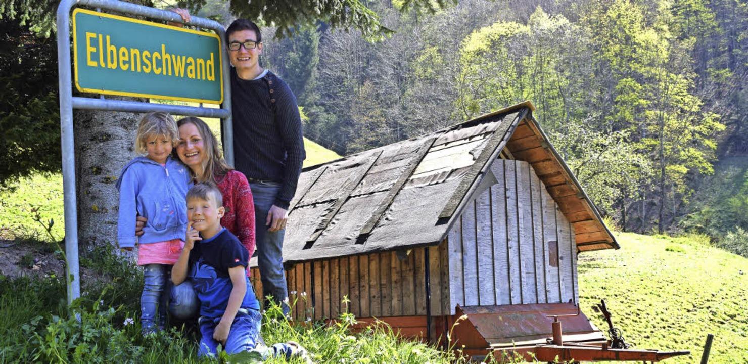 Familie Prunu hat ihre Heimat in Elbenschwand gefunden.  | Foto: Schoch